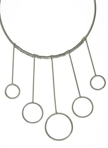 Twist Kolye Gümüş
